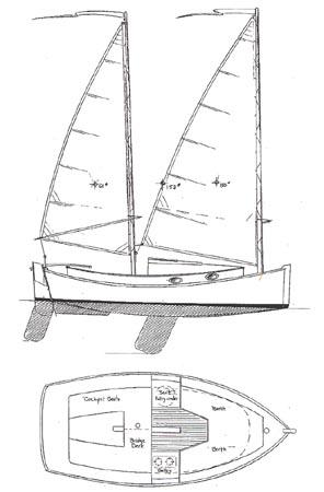 Rumaja: Next Pocket cruiser sailboat plans