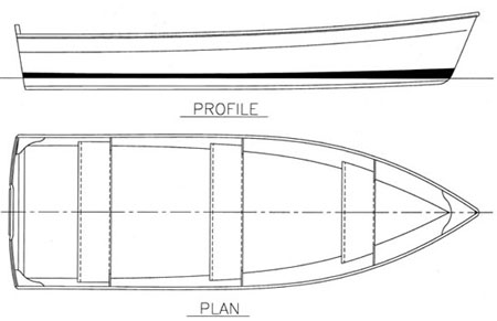 2 sheet plywood boat plans
