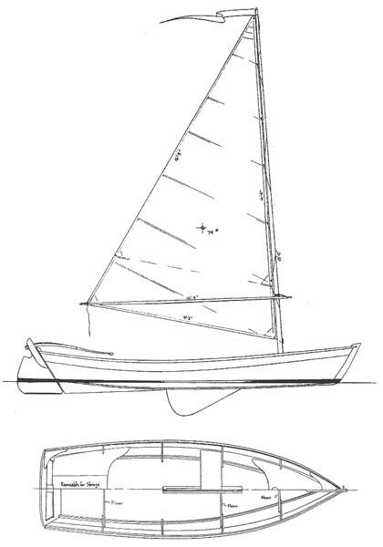 SAILING SKIFF 15 - Daysailer - Boat Plans - Boat Designs