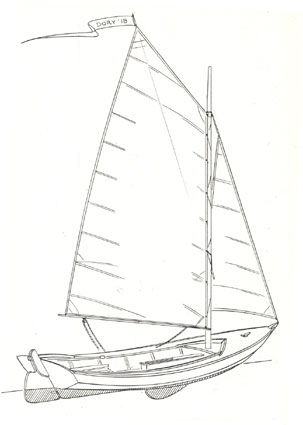 Gallery For > Dory Boat Drawing